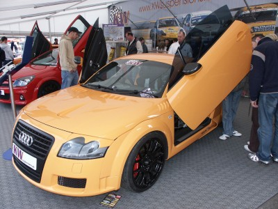 Audi TT Lambo Doors: click to zoom picture.
