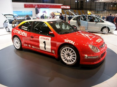 Citroen Xsara Rally Car 2: click to zoom picture.