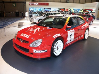Citroen Xsara Rally Car: click to zoom picture.