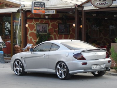 Hyundai Coupe Alloy Wheels: click to zoom picture.