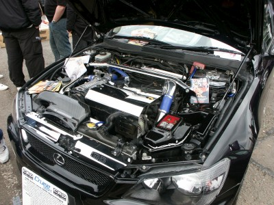 Lexus IS200 Supercharged: click to zoom picture.