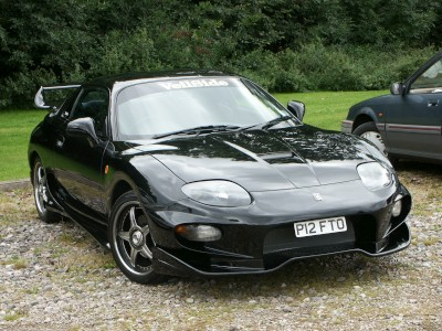 Mazda RX7 Black: click to zoom picture.