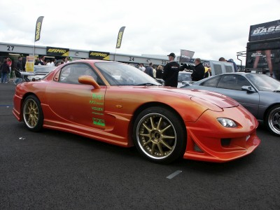 Mazda RX7 Modified: click to zoom picture.