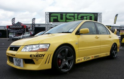 Mitsubishi Evo: click to zoom picture.