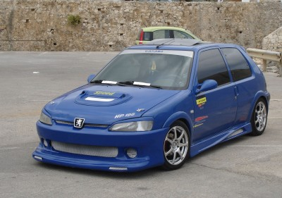 Peugeot 106 Bodykit: click to zoom picture.