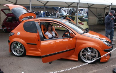 Peugeot 206 Modified: click to zoom picture.