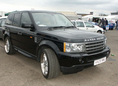 Range Rover Front: click to zoom picture.