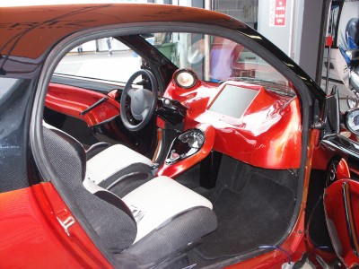 Smart Car Interior: click to zoom picture.