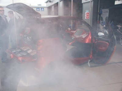Smart Car Smoke Screen: click to zoom picture.