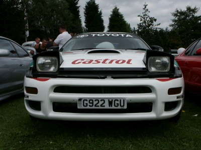 Toyota Celica ST185 RC Graphics Front: click to zoom picture.