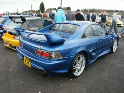 Toyota MR2 Lexus Lights: click to zoom picture.