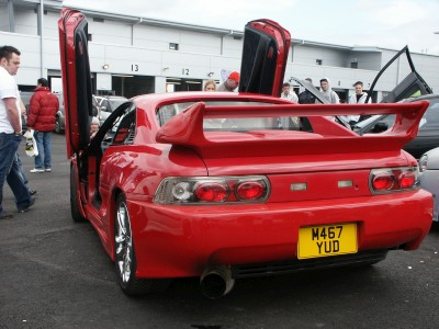 Toyota MR2 Rear Lexus Lights: click to zoom picture.